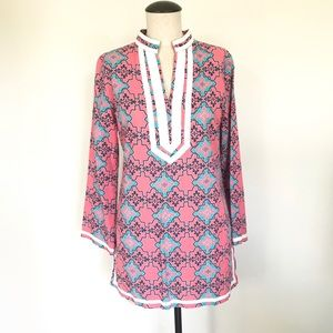 Tracy Negoshian Pink Dress/Tunic Size X-SMALL